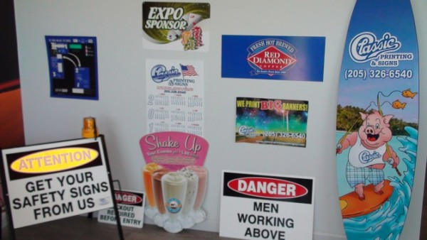precision printing birmingham al signs banners car tags